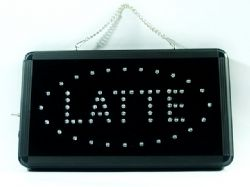 Latte LED Sign